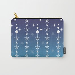 Stars and Night Sky - Blue Gradient Shapes Carry-All Pouch