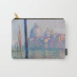 Le Grand Canal by Claude Monet Carry-All Pouch