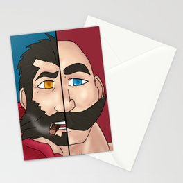 Graves X Braum Stationery Cards