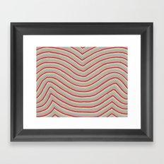 Colory Lines Framed Art Print
