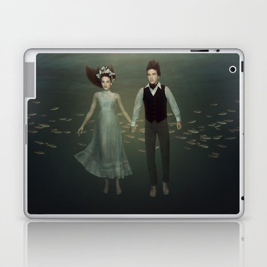 Underwater Couple Laptop & iPad Skin