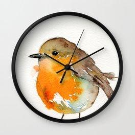 Robin Bobin Along Wall Clock