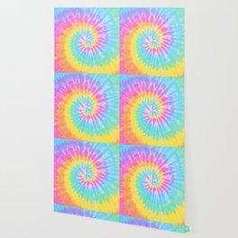 Rainbow Tie Dye Wallpaper
