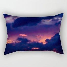 Dwindling Flame Rectangular Pillow