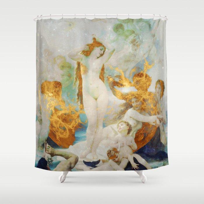 Birth of Venus Shower Curtain