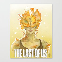 Alive Inside - The Last of Us Canvas Print