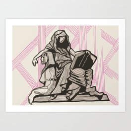 Cleo - Muse of History Art Print