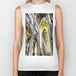 Bath Abbey Art Biker Tank