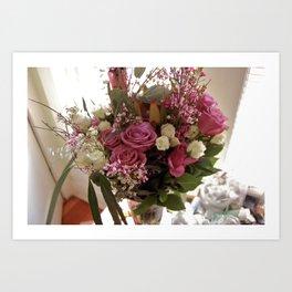 Birthday Bouquet  Art Print