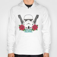 stormtrooper Hoodies featuring Stormtrooper by Larissa