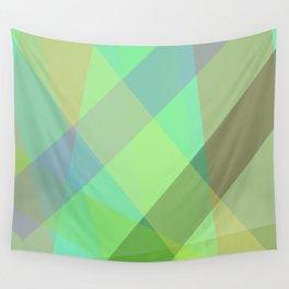 Stripes - Seafoam Green Wall Tapestry