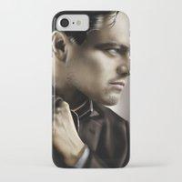 leonardo dicaprio iPhone & iPod Cases featuring Leonardo DiCaprio by Duke78