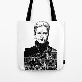 Annie Besant by Szabolcs Kariko Tote Bag