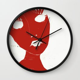 « vos faux-cils mademoiselle » Wall Clock
