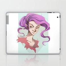 Pink Hair Laptop & iPad Skin