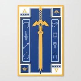 Zelda Poster Canvas Print