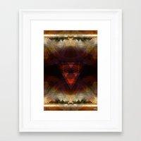 fire emblem Framed Art Prints featuring fire emblem by Paul Juno Art