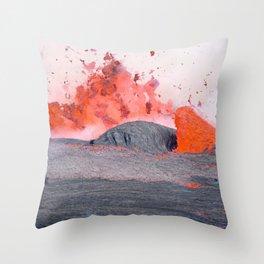 volcano #society6 #decor #buyart Throw Pillow