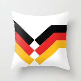 Soccer Germany 1990 Throw Pillow