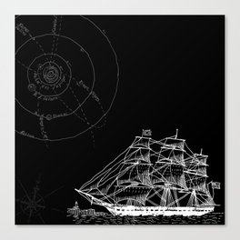 If Time Is My Vessel Canvas Print