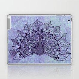 Doodle Peacock Purple Laptop & iPad Skin