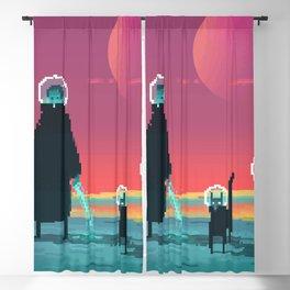 Phazed and Cloud | PixelArt #2 Blackout Curtain