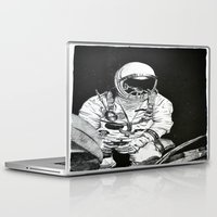 spaceman Laptop & iPad Skins featuring Spaceman by Bri Jacobs