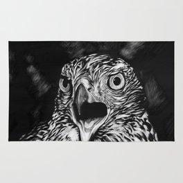 Fierce Falcon Rug