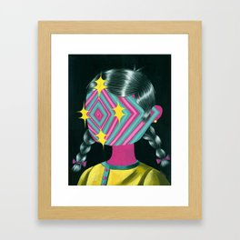 Beautiful Dreamer Luna Framed Art Print