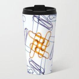 Kaleidoscope -Paper Clips Travel Mug