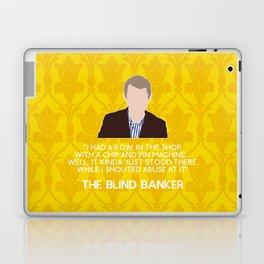 The Blind Banker - John Watson Laptop & iPad Skin