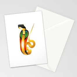 Wadjet - egyptian goddess Stationery Cards