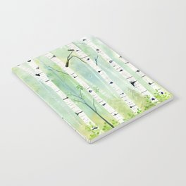 Birch Trees 2  Notebook