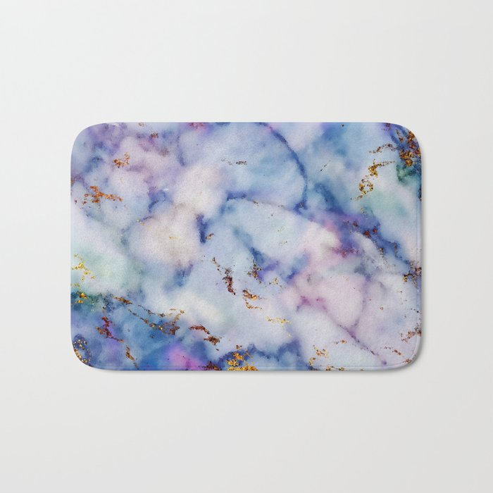 Marble Effect #6 Bath Mat
