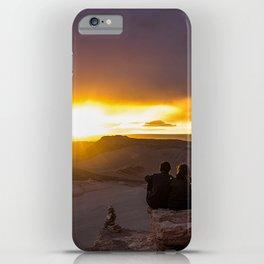 Sunset at Atacama Desert iPhone Case
