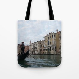 A Gondola Ride With Luca in Venice Tote Bag