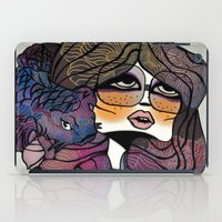 pisces iPad Cases featuring Pisces by annabours