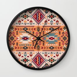 Navajo Design Wall Clock