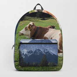 Cows in the Alps Backpack