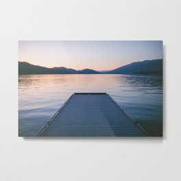 To The Lake Metal Print