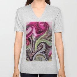 Art Pink Unisex V-Neck