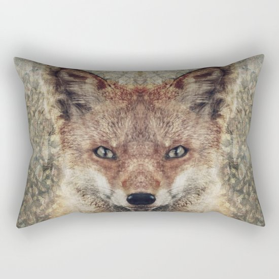 Fox II Rectangular Pillow