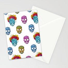 sugar skull pattern Stationery Cards