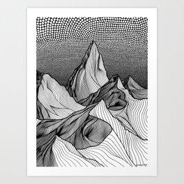 Risen Art Print