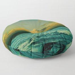 Seascape Floor Pillow