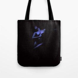 Vintage Nude : Indigo Blue Tote Bag