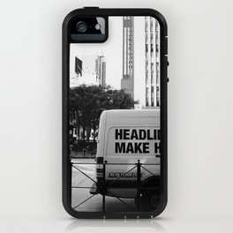 New York Post Truck, Manhattan iPhone Case