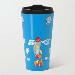 Rocket to the Moon Travel Mug