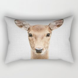 Doe 2 - Colorful Rectangular Pillow