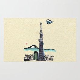 Tokyo Sky Tree Rug